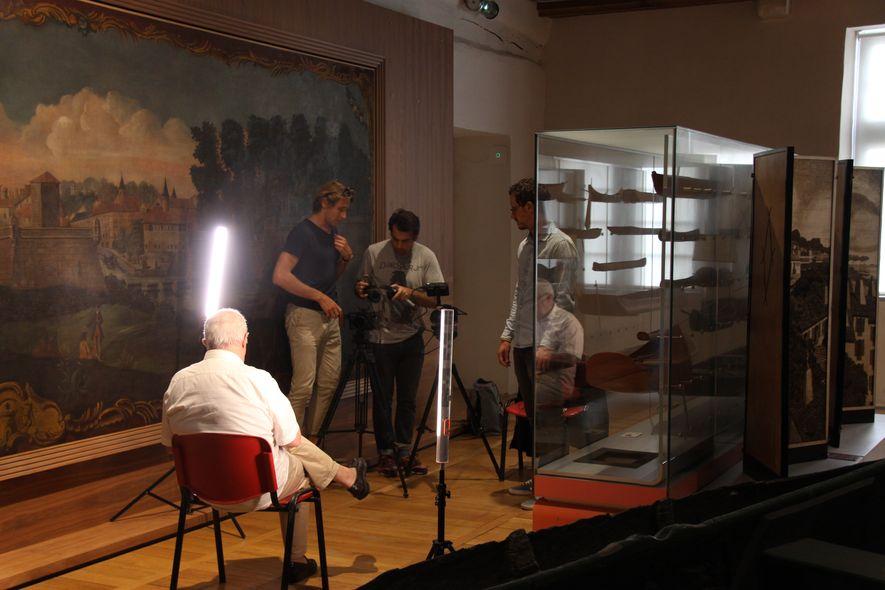 Interview de Olivier RIBETON, conservateur en chef du Musée Basquege de Smog Film